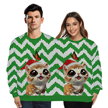 VIP FASHION Winter Couples Sweatshirts 2019 Ugly Christmas Sweatshirt Vacation Two Person Unisex Pullover Tops Clothing
