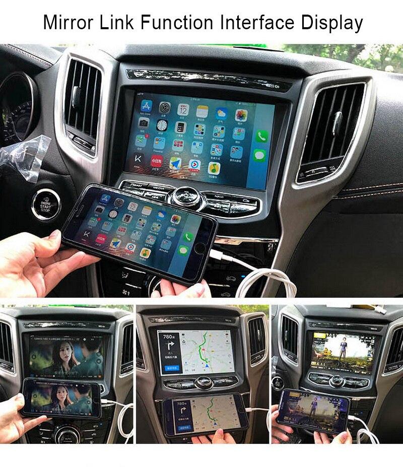 2 din android 9 radio radio rádio do carro para vw/assento + carplay para skoda passat b6 polo golf tape recorder wifi gps airplay canbus com câmera - 6