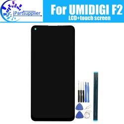 6.53 calowy wyświetlacz UMIDIGI F2 LCD + ekran dotykowy 100% oryginalny przetestowany wyświetlacz LCD Digitizer wymienny szklany Panel dla UMIDIGI F2