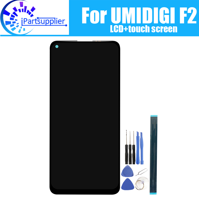 6.53 Inch UMIDIGI F2 LCD Display+Touch Screen 100% Original Tested LCD Digitizer Glass Panel Replacement For UMIDIGI F2