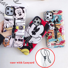 Finger Loop Phone cover XS For iphone 11 Pro MAX For iphone 7 8 /XR XS MAX/ 6s 6 Plus Case Cartoon Holder Hide Ring Stand case(China)