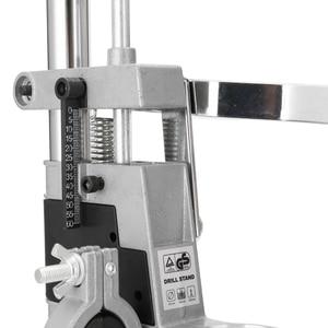 Image 5 - Скамья дрель пресс подставка зажим основа Рамка для электрической дрели DIY инструмент пресс ручной держатель Дрель аксессуары для электроинструментов
