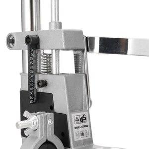 Image 5 - Perceuse de banc, support de presse, cadre de Base pour perceuses électriques, outil de bricolage, support de presse à main, accessoires doutils électriques