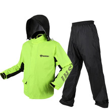 Traje Impermeable para adultos, traje Impermeable de motociclismo, Impermeable, ultrafino, para senderismo, pesca, equipo de protección a prueba de lluvia
