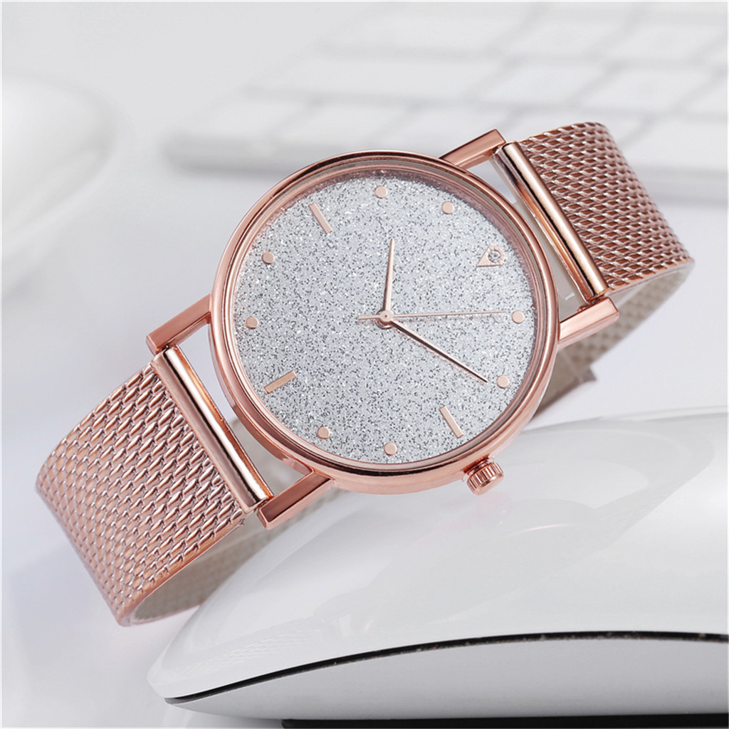 Fast delivery Business Women Watch Luxury Watches Quartz Watch Stainless Steel Dial Casual Bracele Watch Female Gift Cheap 1