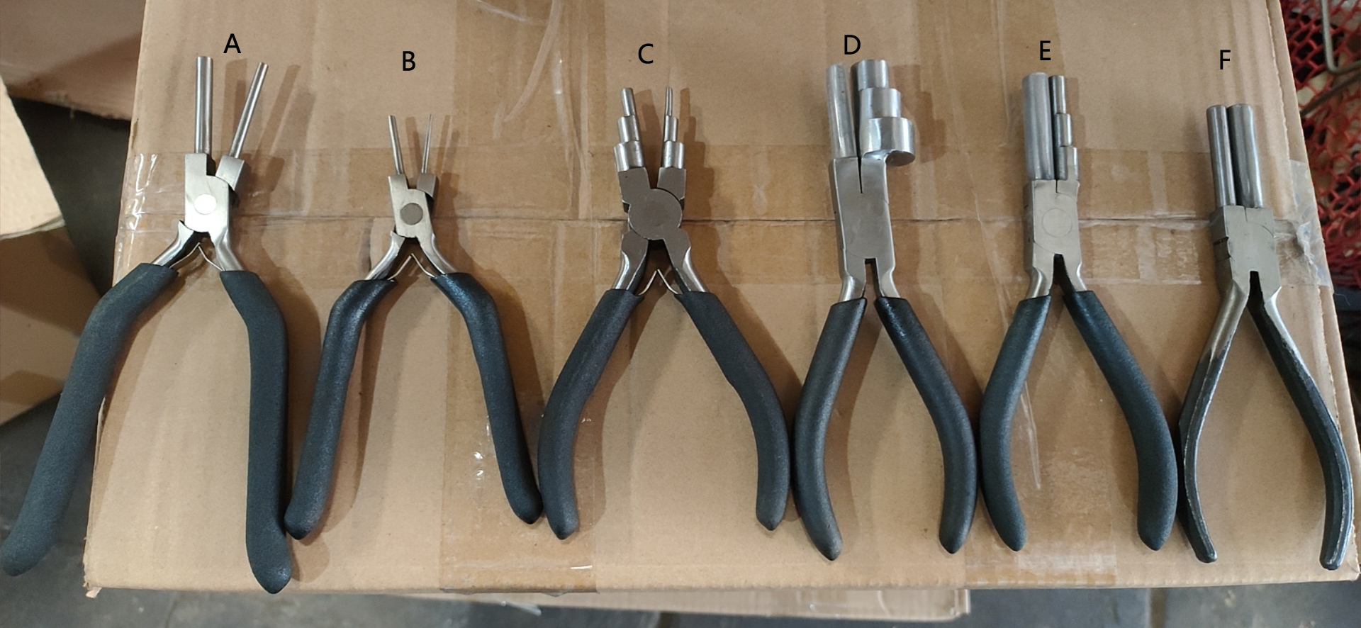 Jewelry Making Plier Hand Tool Stainless Steel Needle Nose Pliers DIY Repairing Jewelry Pliers Sets