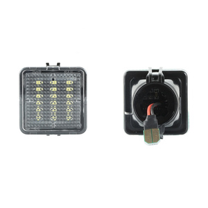 Image 3 - QCDIN For TOYOTA LED License Plate Lamp White 12V 6000K For TOYOTA Tacoma 2016 2019 Tundra 2014 2019 Number Lights Signal Lights