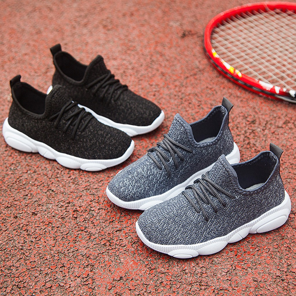 Children Infant Kids Casual Sport Shoes Baby Girls Boys Solid Mesh Sport Run Sneaker Casual Warm Infant Crib Shoes HOOLER