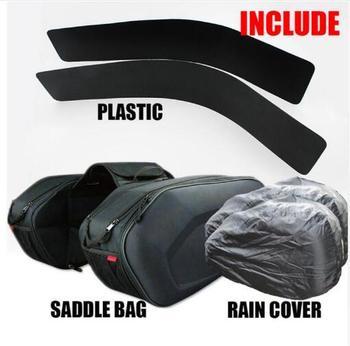 New Komine SA-212 Saddle Bag Motorcycle Tail Bag Bag Saddle Bag Motocross Motorcycle Bag Comes with raincoat and plastic ring detail saddle bag