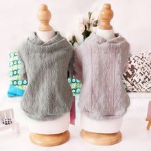 Cute Small Dog Sweaters Knitted Pet Cat Sweater Warm Sweatshirt Winter Clothes Kitten Puppy Coat Supplies