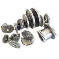 ABSS 17Pcs/Set Mini Lathe Gears , Metal Cutting Machine Gears , Lathe Gears