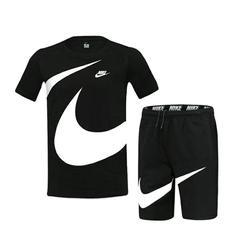 2020 Nieuwe Set 2 Stuks Mannen Sets Mannelijke Mannen Kleding Sportkleding Set Fitness Zomer Print Mannen Shorts + T-shirt mannen Pak 8915