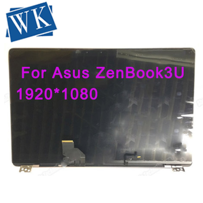 Free Shipping Original Full Assembly  For Asus ZenBook3U Laptop LED LCD FHD Screen Digitizer Glass Replacement
