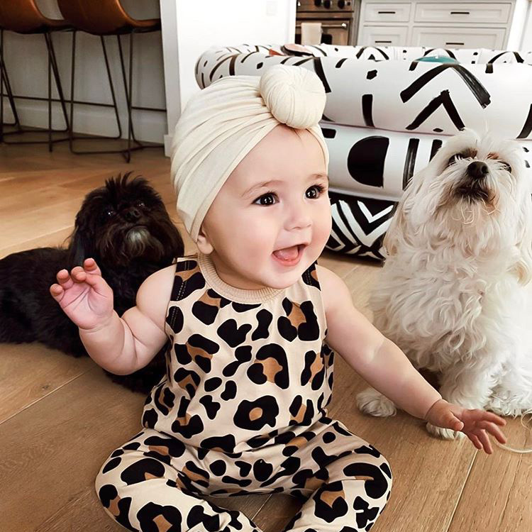 Newborn Donut Sanils Hats BeBes Head Turban Hood Knot Baby Girls Cap Hat Unisex Cotton Soft Head Hoop Infant Beanie 16Colors