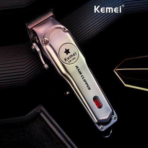 kemei 1997 110 240v maquina de cortar cabelo