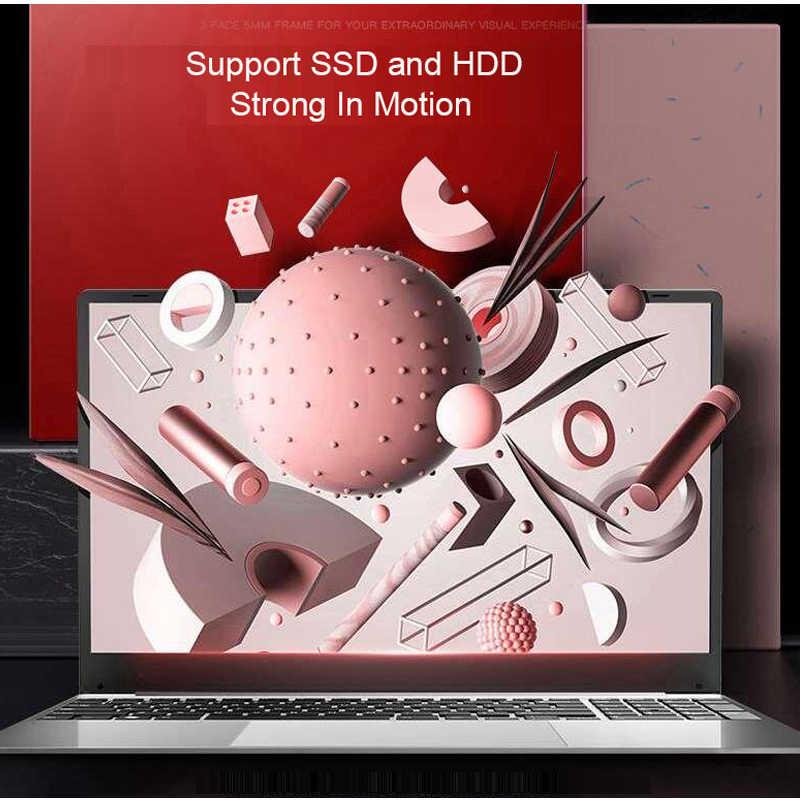 Laptop 15.6 Inci Notebook Komputer 12G Ram 128G/256G/512G/1TB SSD ROM IPS Layar Gaming Laptop dengan Windows 10 OS Ultrabook