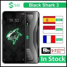 Küresel sürüm siyah köpekbalığı 3 5G oyun Smartphone 256GB 12GB 8GB 128GB 6.67