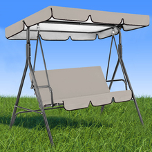 2x Chair Canopy Cover Waterproof Courtyard Hanging Garden Patio Swing Seat Cover for Home Garden Laying Accessories