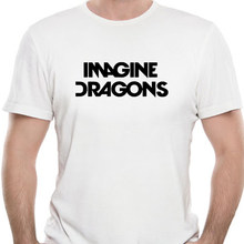 euro size Men And Women Printing Music Band Imagine Dragons T-shirt Summer Casual O-Neck Short Sleeves Tshirt 7378K
