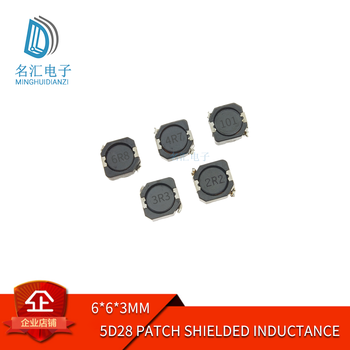 5d28 SMD shielding inductance 2.2 / 4.76.8 / 10 / 22 / 33 / 47 / 68 / 100uh 6 * 6 * 3 image