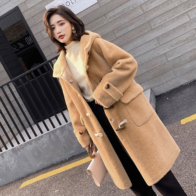 Fur Real Coat Female 100% Wool Coats Winter Jacket Women Clothes 2020 Sheep Shearling Fur Long Coat Casaco Feminino MY S