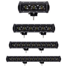 LED Work Light Bar LED Light Bar for Car Tractor Boat Off-road 4WD 4x4 Truck SUV ATV Driving 12V 24V Power 30W 60W DC 9-32V weketory 4 36 inch led bar led light bar for car tractor boat offroad off road 4wd 4x4 truck suv atv driving 12v 24v