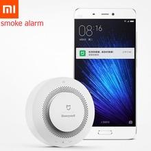 원래 xiao mi mi jia honeywell 스마트 화재 경보 프로그레시브 사운드 광전 연기 센서 원격 링키지 mi app