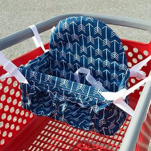 Image 1 - Carrito de compras para bebé, hamaca portátil, asiento de carrito de tirón, carrito de compras de supermercado, asiento de seguridad para bebé
