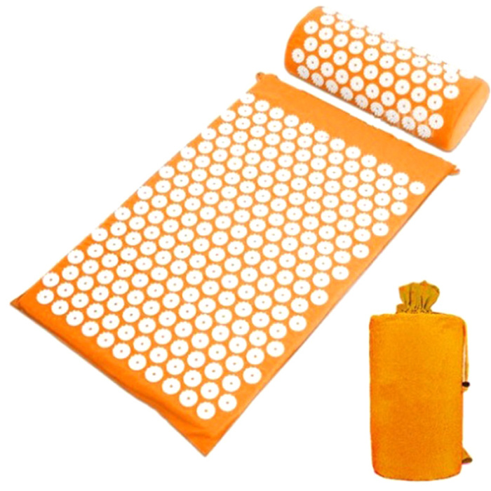 SEC88 Acupressure Massage Mat with Pillow set for Stress Pain and Tension Relief 16