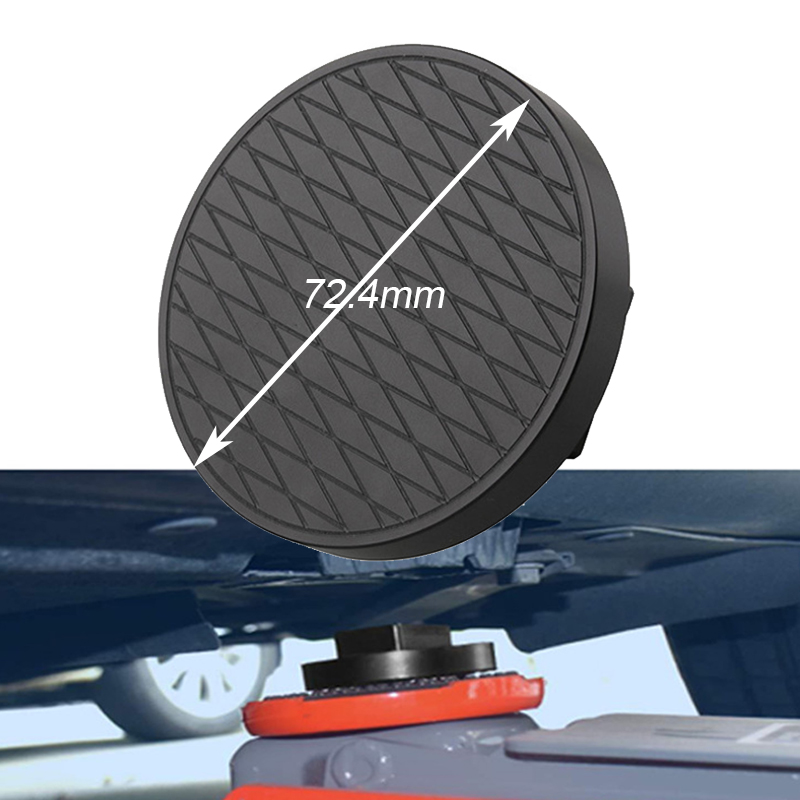 72.4mm Rubber Jacking Pad Anti-slip Protector Floor For Heavy Duty Round Lift Pad For MINI COOPER Car Repair