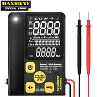 Digital-Multimeter MAXRIENY ADMS9CL EBTN LCD Multifunktions Voltmeter Spannung Frequenz Widerstand Kondensator Diode NVC Tester