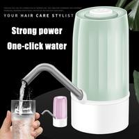Bomba de agua eléctrica para el hogar, dispensador de botón automático, con Control táctil, para botella de galón, suministros de carga de interruptor USB
