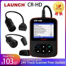Creader CR HD 24V 트럭 진단 도구 HOBD 디젤 24V 트럭 스캐너 남자 OBD2 코드 리더 출시