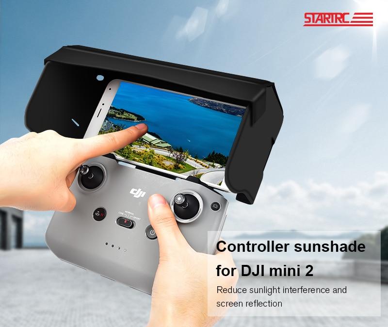 H44db7838c1104f43904aff5c5233bc9e9 - STARTRC DJI Mini 2 Sun hood Remote Control Sunshade Phone Monitor sun shade hood For DJI Mavic Air 2/Mavic Mini 2/2S Controller