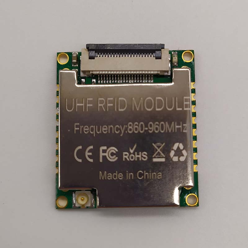 865-868Mhz PR9200 RF Chipset Long Range Small Size Low Cost UHF RFID Reader Module With Ipex Socket Stamp Hole Solder