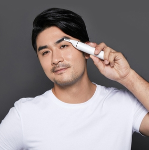 Image 3 - Xiaomi Soocas IPX5 Waterproof Nose Eyebrow Hair Trimmer Sharp Blade Body Wash Minimalist Design Safe Cleaner Trim Personal Daily