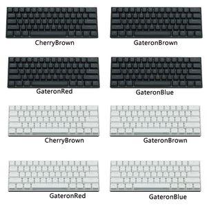 Image 5 - Anne Pro2 60% Bluetooth 4,0 Typ C RGB 61 Schlüssel Mechanische Gaming Tastatur Kirsche Schalter Gateron Schalter