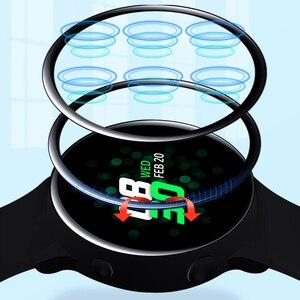 Защита экрана для Samsung galaxy Watch Active 2 44 мм 40 мм HD 3D Прозрачная мягкая пленка стеклянные Смарт часы водонепроницаемые протекторы Ремешки для часов      АлиЭкспресс