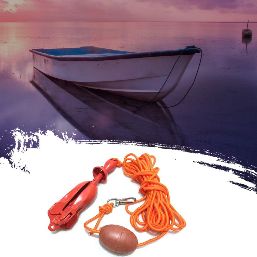 Discreet New Carbon Steel Paint Folding Anchor Set Yacht Accessories Umbrella Anchor Ship Anchor Stainless Steel Hardware Accessories A Plastic Case Is Compartmentalized For Safe Storage