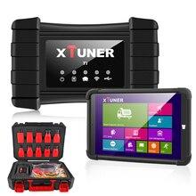 أحدث XTUNER T1 HD الثقيلة شاحنة السيارات أداة تشخيص مع شاحنة وسادة هوائية ABS DPF EGR إعادة OBD2 السيارات ماسح ضوئي تشخيصي