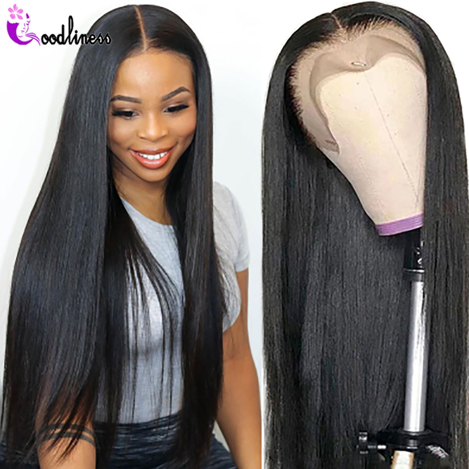 360 HD Transparent Lace Frontal Wig 13x6 13x4 Lace Front Wig Human Hair 28 30 Inch Brazilian Straight Lace Wigs For Black Women