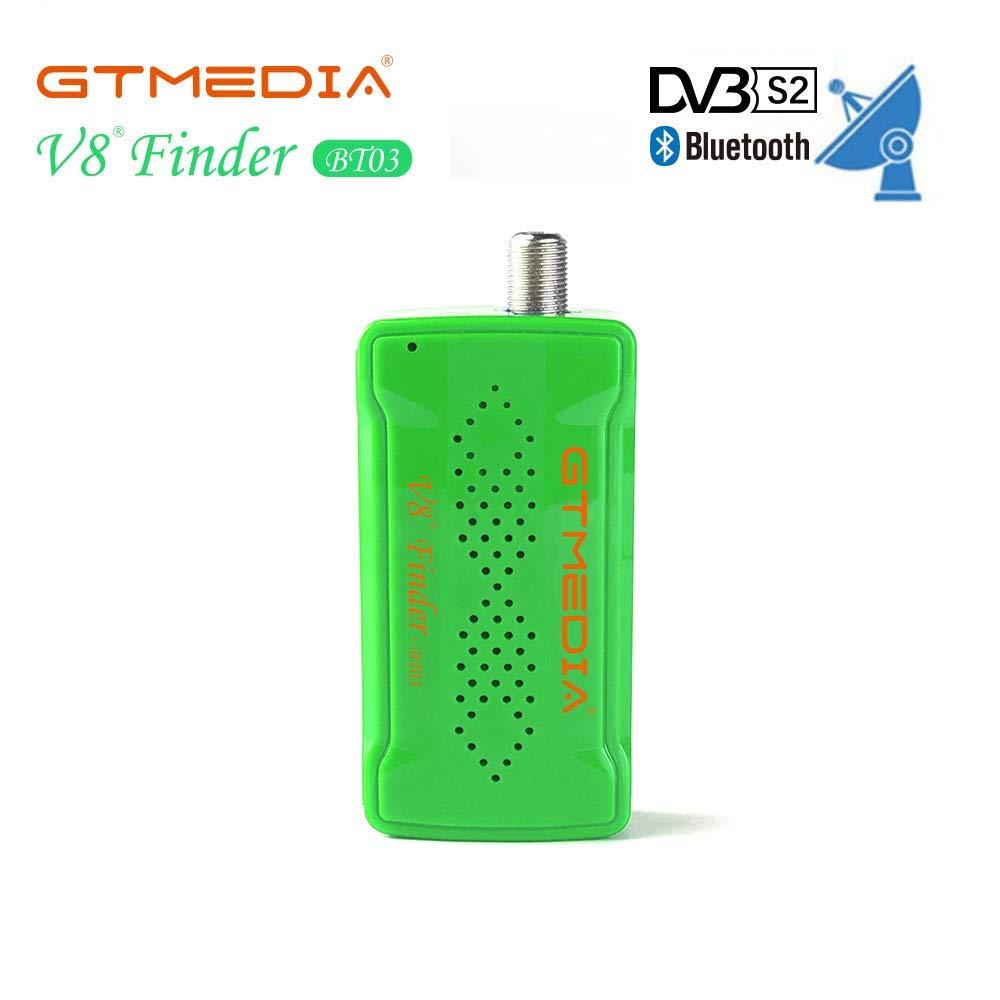 GTmedia V8 Finder BT03 DVB-S2 Bluetooth Satellite Finder Satellite Supports Android I Os System