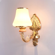 Nordic Wall Lamp Glass Shade Led Lamp Wall Lights Fixtures 1/2 Heads Decorative Modern Applique Murale for Indoor Hotel Bedside