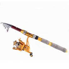 1.8-3.0 m Carbon Fiber Telescopic Fishing Rod Portable Spinning Rod High Strength Pole Travel Sea Boat Rock Outdoor Fishing Rod все цены