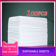 100pcs 80x180cm Disposable Bed Sheets Bedroom Massage Table Sheets Beauty Salon Spa Travel Hotel Thicken Non