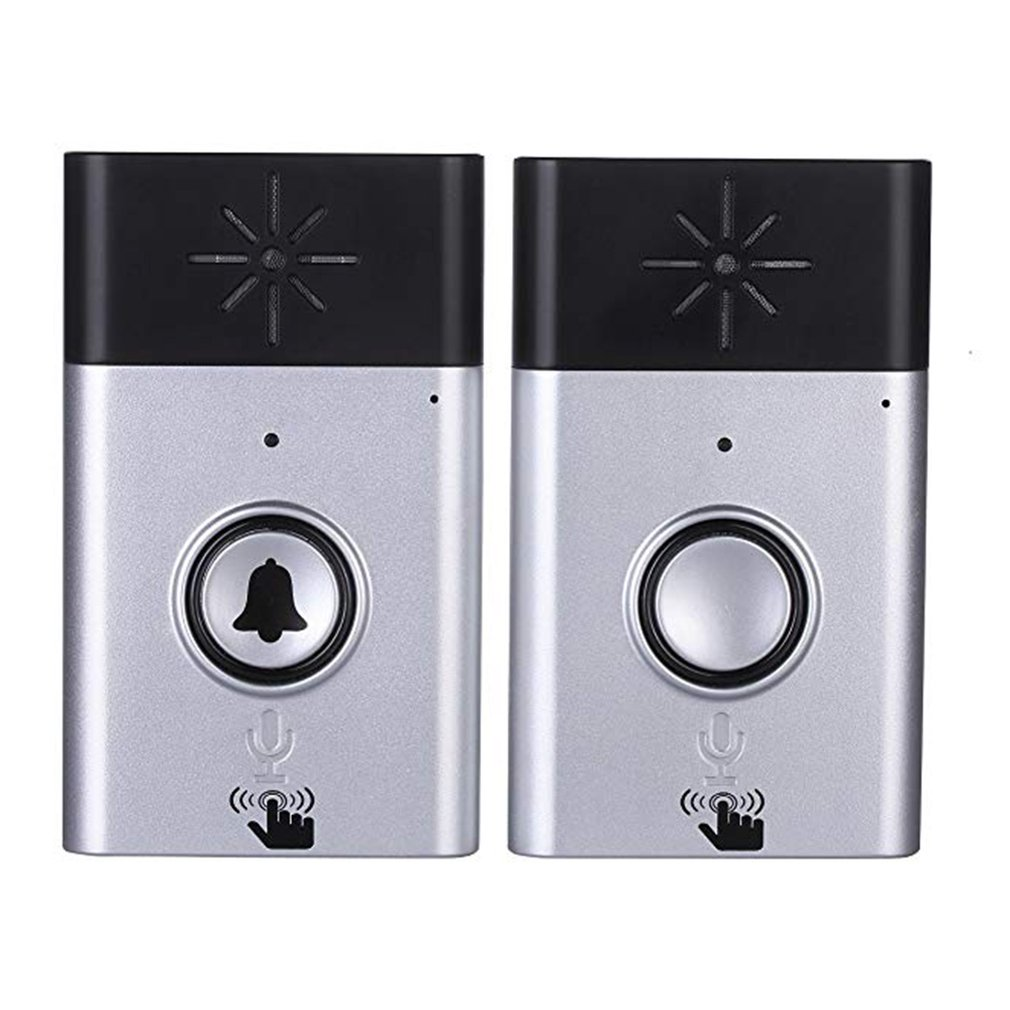 Wireless Intercom Doorbell Home Voice Intercom Doorbell Support Two-Way Intercom Professional Penetration