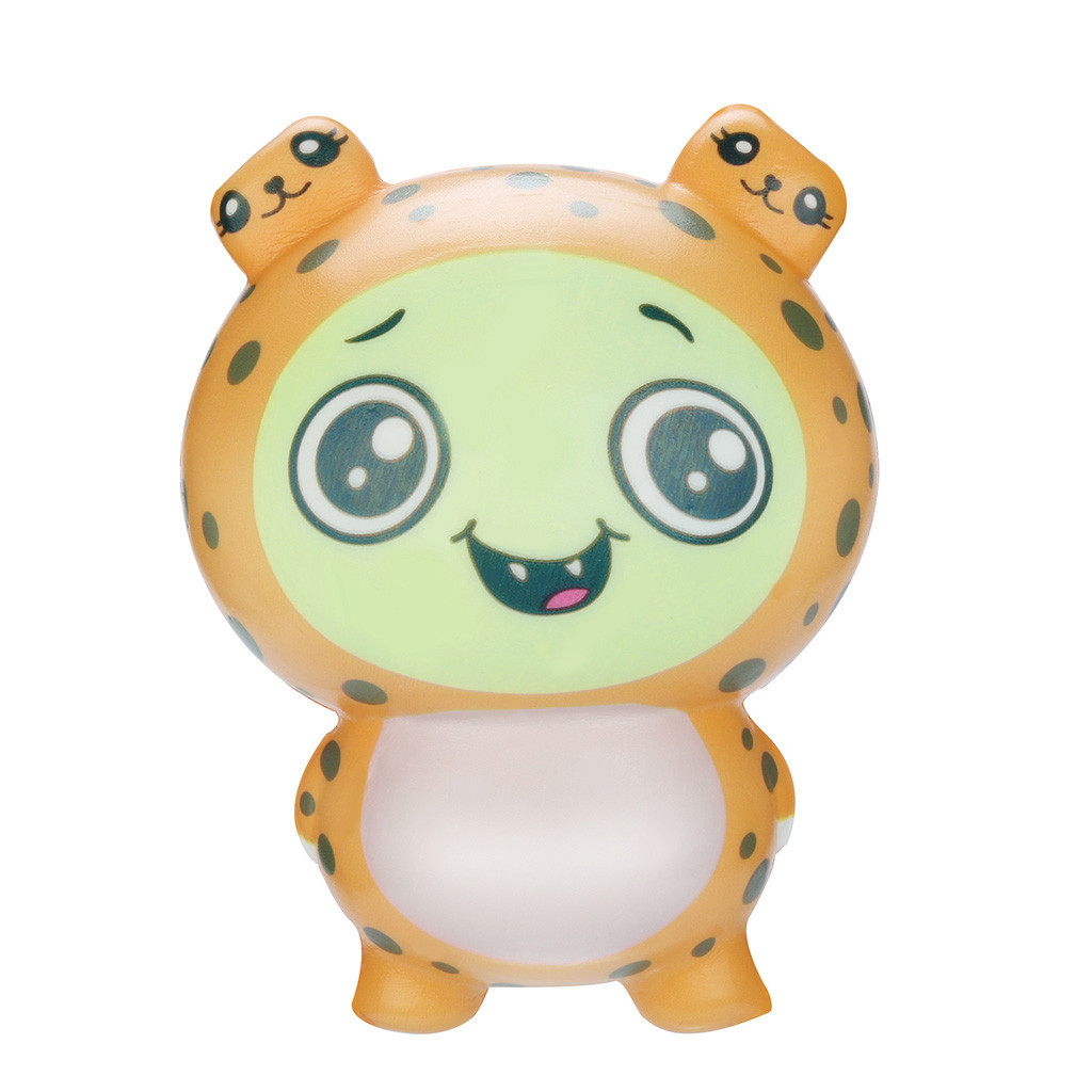 Squishy Toy Adorable Leopard Toy Slow Rising Stress Relief Toys Gifts Interesting Novelty Toy Funny Holiday Gift #A