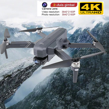2021 NEW F11 PRO 4K GPS Drone With Wifi FPV 4K HD Camera 2-axis Anti-Shake Gimbal F11S Brushless Quadcopter Vs SG906 Pro 2 Dron 1