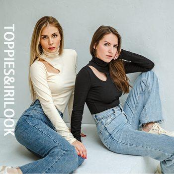 Toppies Gợi Cảm Skinny Cao Cổ Hàng Đầu Người Phụ Nữ Rỗng Ra Thun Dáng Áo Quần Skinny Mùa Xuân 2021 Slim Tee Nữ Quần Áo 1
