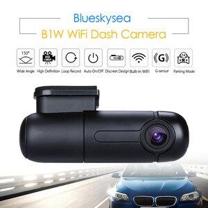 Image 1 - Blueskysea רכב WIFI DVR B1W מיני דאש מצלמה Rotatable עדשה NT GM8135S גבוהה HD 1080P Dashcam Sony IMX323 רכב מקליט